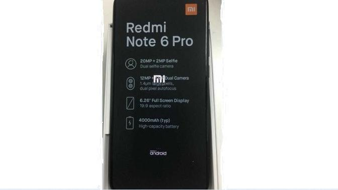 Keberadaan Xiaomi Redmi Note 6 Pro Terungkap Di Internet Tekno