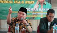 Luqman Hakim selaku Anggota Komisi III DPRI RI dari Fraksi PKB saat acara Sosialisasi Empat Pilar MPR RI, di Mungkid, Magelang, Kamis (28/11).