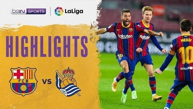 Berita video, Barcelona menang tipis atas Real Sociedad di pekan ke-19 Liga Spanyol 2020/2021