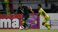 Mahmoud Eid - Bomber berusia 26 tahun ini diharapkan mampu membantu Persebaya meraih kesuksesan di laga Shopee Liga 1 2020. (Bola.com/Yoppy Renato)