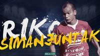 Pemain Persija Jakarta: Riko Simanjuntak. (Bola.com/Dody Iryawan)