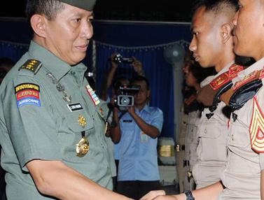 Kasum TNI Memberi Pembekalan Kepada Ratusan Capaja