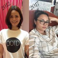 Begini perubahan emak-emak sebelum dan sesudah punya anak. (Instagram/leemishael)