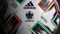 Uniforia, nama bola resmi Piala Eropa Euro 2020 (Euro 2021). (AFP/Christof Stache)