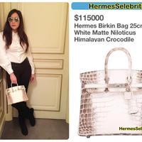 Bukan hal aneh bagi para selebriti untuk mengoleksi tas dengan harga yang super mahal. Namun sangat mengejutkan jika Maia Estianti dan 7 seleb cantiknya punya tas yang harganya 1 Milyar rupiah bahkan lebih. (Instagram/hermesselebriti)