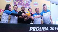 Proliga 2019 diawali di Yogyakarta untuk putaran pertama minggu pertama, 7-9 Desember. (Bola.com/Vincentius Atmaja)