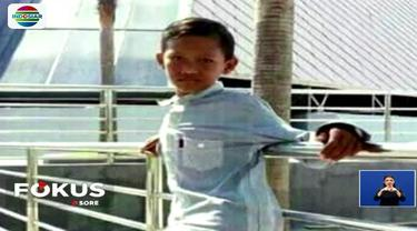 Jazim tak percaya, jika Nazarudin (13) yang hilang saat bermain air, pada Kamis, 22 Februari lalu sudah tak bernyawa. Korban ditemukan sekitar 5 kilometer dari titik tenggelamnya.