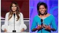 Melania Trump dan Michelle Obama, bagaimana bisa pidato keduanya mirip?