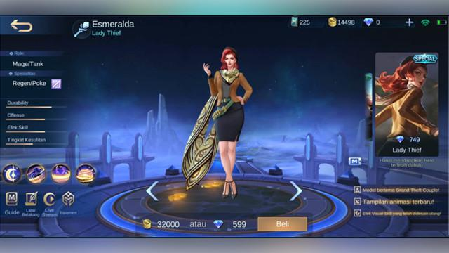 Esmeralda: Lady Thief (Special)