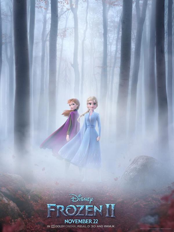 Poster Frozen 2 (Instagram/ disneyfrozen)