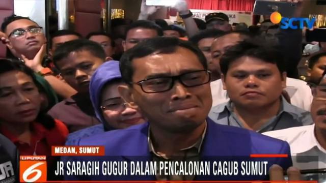 JR Saragih yang berpasangan dengan Ance Selian didukung oleh Partai Demokrat, PKB, dan PKPI.