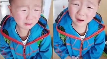 siswa SD di china lupa gurunya