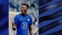 Jersey Chelsea untuk musim 2020-2021 masih didominasi warna biru itu terlihat simple dan elegan dengan kehadiran sponsor baru. (dok. Chelsea FC)
