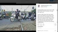 Anies Baswedan Kenang Vespa Sprint 1968 Milik Sang Ayah (Foto: Instagram)