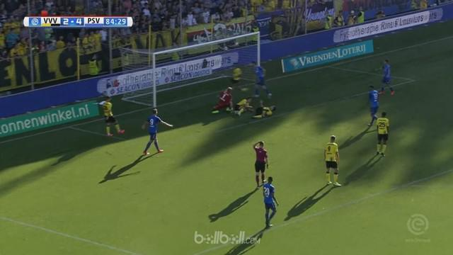 Berita video highlights Eredivisie 2017-2018 antara VVV Venlo melawan PSV Eindhoven dengan skor 2-5. This video presented by BallBall.