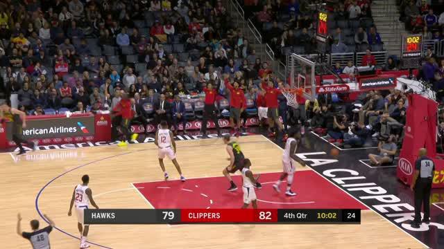 Berita video game recap NBA 2017-2018 antara LA Clippers melawan Atalanta Hawks dengan skor 108-107.