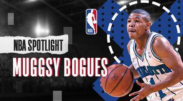 Berita Video NBA Spotlight, Lebih Dekat Dengan Muggsy Bogues, Point Guard Mungil dan Legendaris