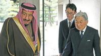Rombongan Kerajaan Saudi akan tinggal di Istana Akasaka yang menjadi Wisma Tamu Negara. (Sumber Reuters)