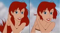 Putri Disney Berambut Pendek (Sumber: Brightside)
