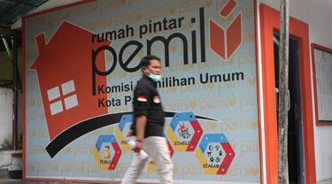 Rumah pintar di kantor KPU Palu