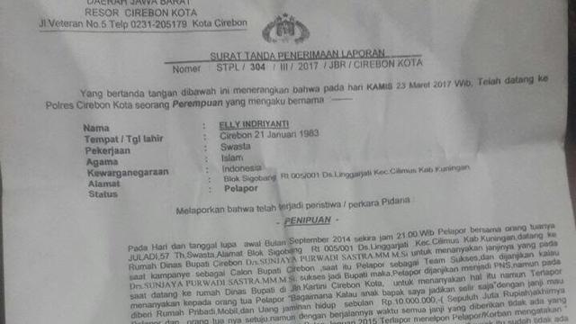 Kasus Dugaan Penipuan Nikah Siri Bupati Cirebon Kian Memanas