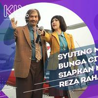 Persiapan Reza Rahadian dan Bunga Citra Lestari syuting film My Stupid Boss 2.