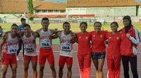 Atlet Indonesia di ASEAN Schools Games 2019 (Liputan6.com/Windi Wicaksono)