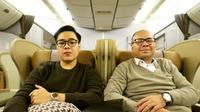 Jeje Soekarno dan DJ Rommy. (Istimewa)