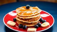 Ilustrasi Pancake sederhana