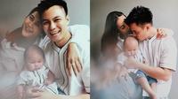 Pemotretan virtual Baim Wong, Paula Verhoeven dan Kiano Tiger Wong. (Sumber: Instagram/@michaelcools)