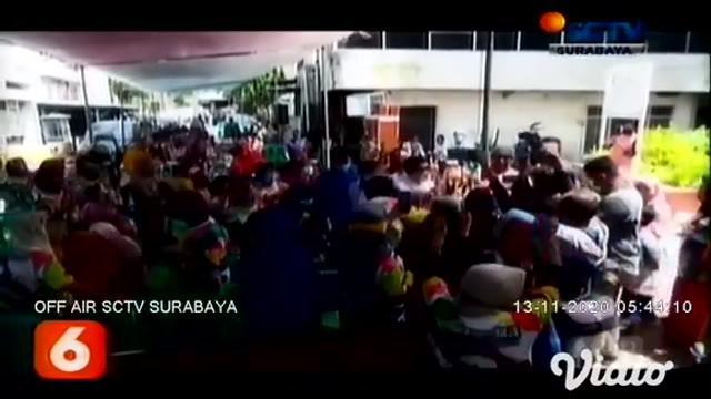 Puluhan anak muda Surabaya mendeklarasikan Komunitas Surabaya Berenerji sebagai bentuk dukungan paslon cawali Eri Cahyadi-Armuji. Machfud Arifin menjanjikan perbaikan sanitasi dan fasilitas toilet di beberapa kecamatan Surabaya.