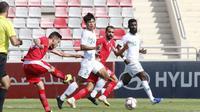 Timnas Indonesia kalah 1-4 dari Yordania dalam laga uji coba di King Abdullah II Stadium, Selasa (11/6/2019). (PSSI)