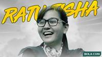 Ratu Tisha. (Bola.com/Dody Iryawan)