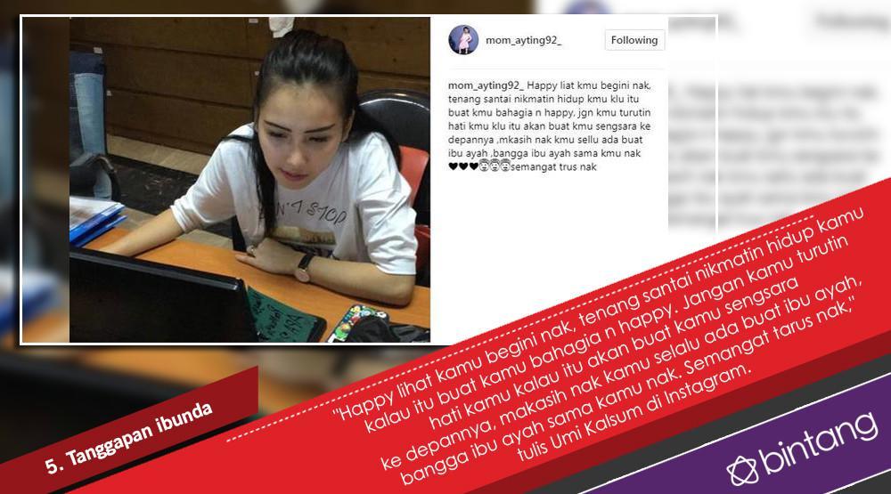 Ayu Ting Ting dan Kabar Putus Kontrak dengan Program TV. (Foto: Instagram/mom_ayting92_, Desain: Nurman Abdul Hakim/Bintang.com)
