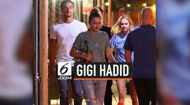Gigi Hadid tertangkap kamera jalan bersama seorang pria. Pria tersebut adalah Tyler Cameron, seorang model dan berasal dari New York.
