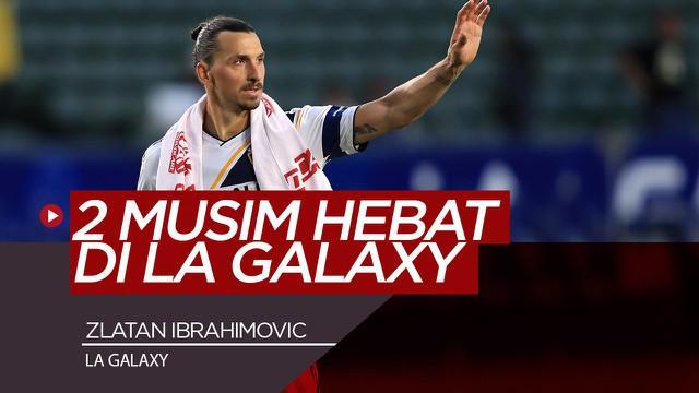 Berita Video Gol-Gol Indah Zlatan Ibrahimovic Selama Membela LA Galaxy