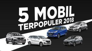 VIDEO: 5 Mobil Terpopuler 2018