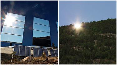 5 Bulan Tanpa Matahari, Kota Ini Gunakan Cermin Untuk Sinar Matahari Tiruan