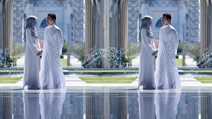 Mau Outdoor Maupun Indoor Pre Wedding Hijab Is Ok Ii Parenting