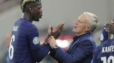 Paul Pogba - Prancis - Euro 2020