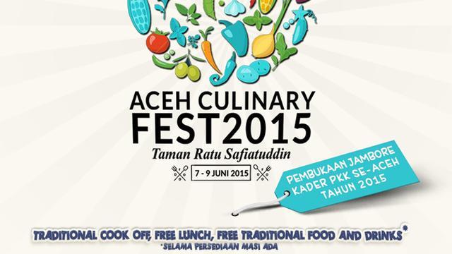 Aceh Culinary Festival 2015 Siap Digelar Lifestyle