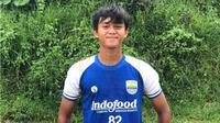 Penyerang muda Persib U-16, Ridwan Ansori ( Dok. Persib)