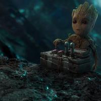 Melihat kelucuan Baby Groot di trailer Guardians of the Galaxy 2. (Via: CinemaBlend)