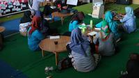 Komunitas warga saat mengikuti pelatihan tentang mitigas bencana di Kota Palu pada Januari, 2020 lalu. (Foto: Liputan6.com/ Heri Susanto).