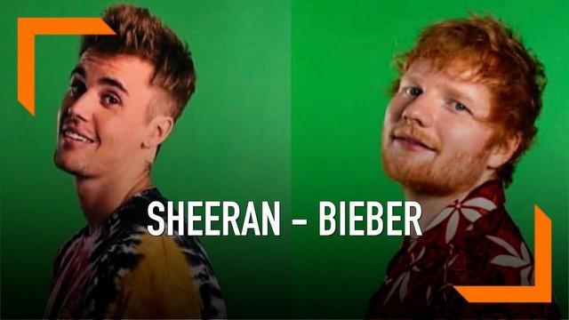 Bersiap! Lagu duet baru Ed Sheeran dan Justin Bieber terkonfirmasi akan dirilis Jum'at (10/5) ini. Kira-kira bakal seperti apa ya lagunya?