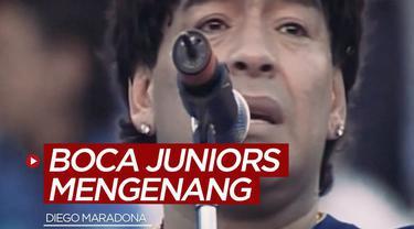 Berita video Boca Juniors mengenang Diego Maradona dengan cara mengharukan.