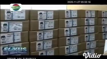 Komisi Pemilihan Umum Daerah (KPUD) Kabupaten Gresik, Jawa Timur, telah menerima 473 kotak surat suara pemilihan Bupati dan Wakil Bupati Gresik pada Pilkada 2020. KPUD memprioritaskan pendistribusian logistik tersebut di Pulau Bawean.
