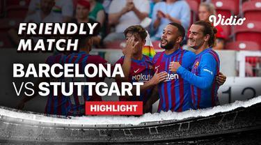 Berita video highlights kemenangan Barcelona atas Stuttgart dalam laga persahabatan, di mana Memphis Depay menorehkan gol mengesankan dalam pertandingan tersebut, Minggu (1/8/2021) dinihari WIB.