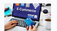 Ilustrasi belanja online di e-commerce. Foto; Freepik
