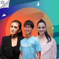 Ketika Iqbaal Ramadhan mendadak jadi idola para mama muda. (Foto: Deki Prayoga/Nurwahyunan/Febio Hernanto/Bintang.com Desain: Nurman Abdul Hakim/Bintang.com)
